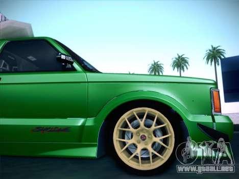 Mitsubishi Cyclone para vista inferior GTA San Andreas