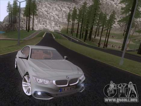 BMW F32 4 series Coupe 2014 para GTA San Andreas