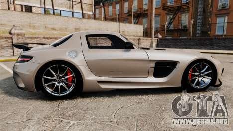 Mercedes-Benz SLS AMG Black Series 2014 para GTA 4 left