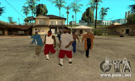 Nigga Collection para GTA San Andreas
