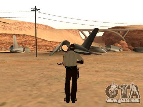 Rick Grimes para GTA San Andreas tercera pantalla