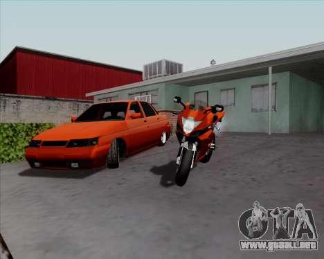 VAZ 2110 v2 para GTA San Andreas left
