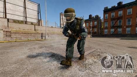 Comando francés GIGN para GTA 4