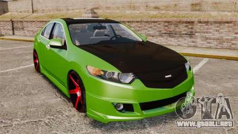 Acura TSX Mugen 2010 para GTA 4
