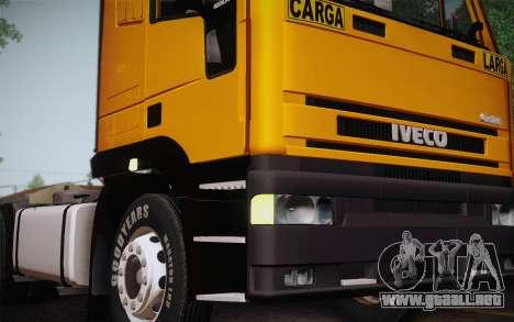 Iveco EuroTech 6x4 Doors para la visión correcta GTA San Andreas