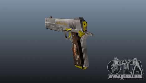 Pistola de Marfil para GTA 4 segundos de pantalla