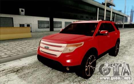 Atmosphere realistic autumn v1.0 para GTA San Andreas