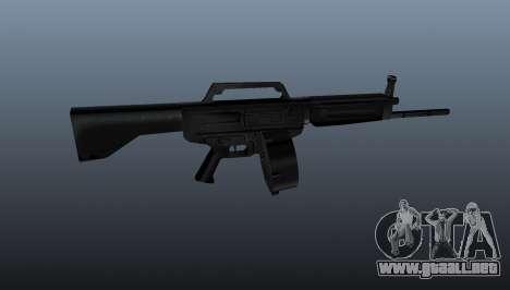 Escopeta Daewoo USAS-12 para GTA 4 tercera pantalla