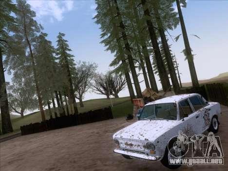 VAZ 21011 Cottage para visión interna GTA San Andreas