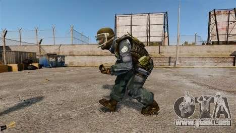 Comando francés GIGN para GTA 4 segundos de pantalla