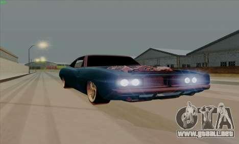 Dodge Charger 1969 Big Muscle para GTA San Andreas left