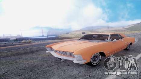 Buick Riviera 1963 para visión interna GTA San Andreas