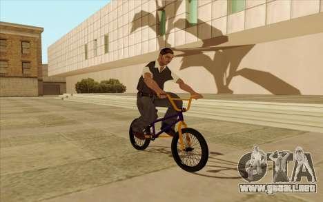 BMX para GTA San Andreas interior