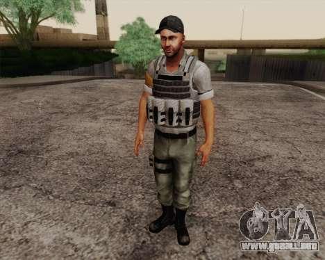 Mercenario de Far Cry 3 para GTA San Andreas