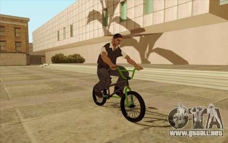 BMX para la vista superior GTA San Andreas