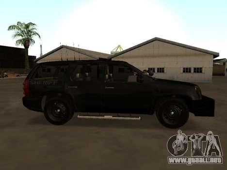 GMC Yukon ATTF para GTA San Andreas left