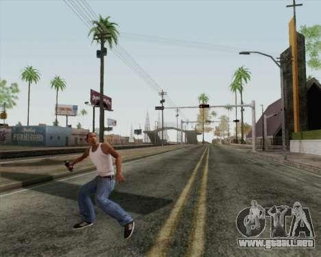 Granada de asalto HD para GTA San Andreas tercera pantalla