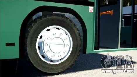 MAZ 103S para GTA 4 Vista posterior izquierda