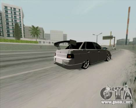 VAZ 2110 v2 para visión interna GTA San Andreas