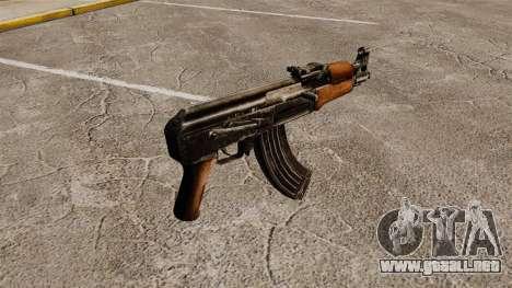 Subfusil ametrallador de Draco para GTA 4 segundos de pantalla