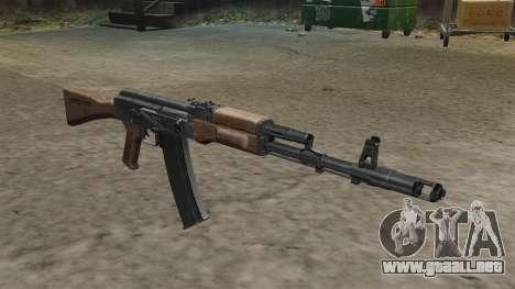 Culata de AK-74 para GTA 4