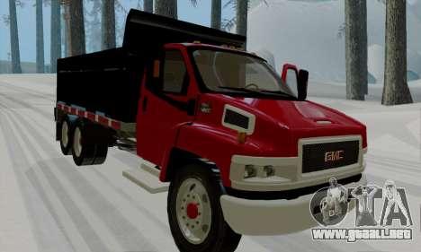GMC C4500 Topkick para GTA San Andreas left