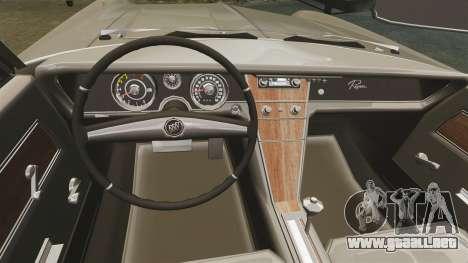 Buick Riviera 1963 para GTA 4 vista interior