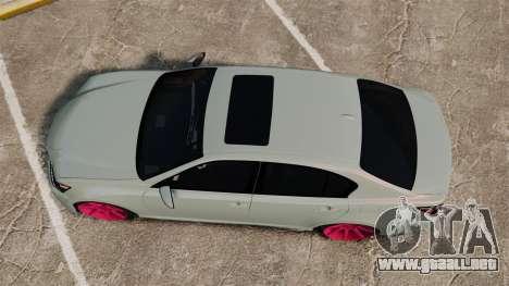 Lexus GS 350 2013 para GTA 4 visión correcta