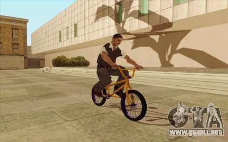 BMX para la visión correcta GTA San Andreas