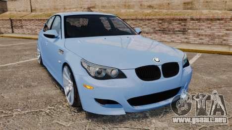 BMW M5 2009 para GTA 4