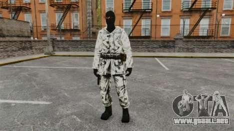 Terrorista sueco Ártico para GTA 4