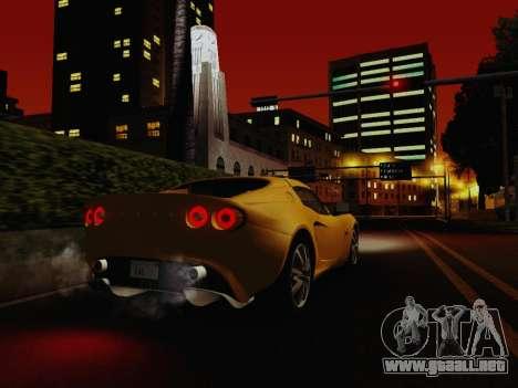 SA_RaptorX v1.0 para PC débil para GTA San Andreas segunda pantalla