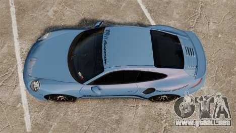Porsche 911 Turbo 2014 [EPM] KW iSuspension para GTA 4 visión correcta