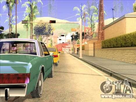 Reflexión única ENB en máquinas para GTA San Andreas segunda pantalla