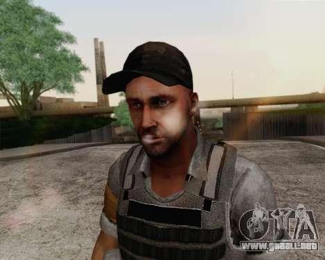 Mercenario de Far Cry 3 para GTA San Andreas tercera pantalla
