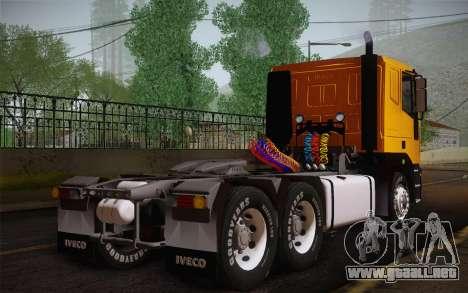 Iveco EuroTech 6x4 Doors para GTA San Andreas left