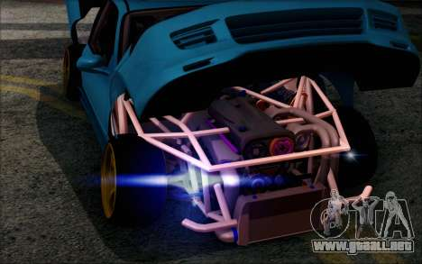 Honda Civic EG6 Tube Frame para GTA San Andreas vista hacia atrás