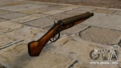 Escopeta recortada para GTA 4 segundos de pantalla