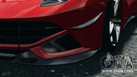 Ferrari F12 Berlinetta 2013 Modified Edition EPM para GTA 4 vista interior