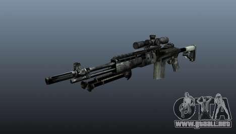 Rifle de francotirador M21 Mk14 v3 para GTA 4