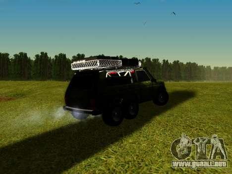 VAZ 212140 Hunter para GTA San Andreas left