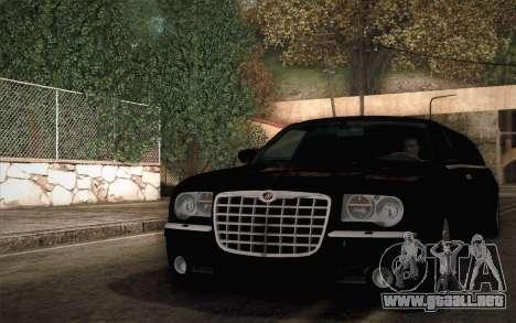 Chrysler 300C Limo 2007 para la visión correcta GTA San Andreas