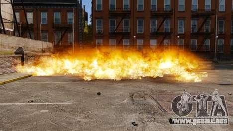 El nuevo escenario de incendios y explosiones para GTA 4
