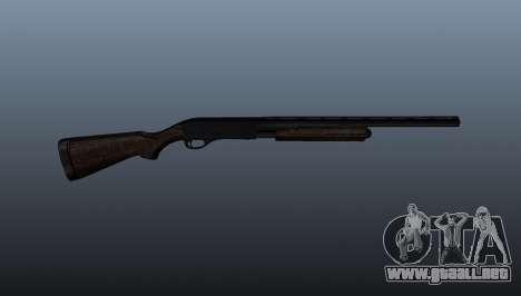 Escopeta Remington 870 para GTA 4 tercera pantalla