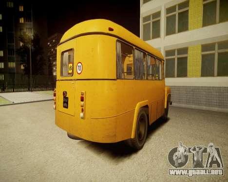 Escuela Kavz-685 para GTA 4 Vista posterior izquierda