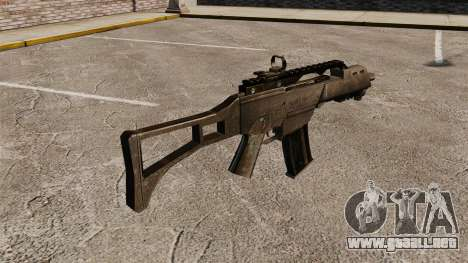 Assault Rifle G36C para GTA 4 segundos de pantalla