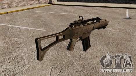 Assault Rifle G36C para GTA 4 segundos de pantalla