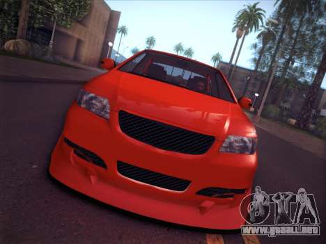 Toyota Vios Modified Indonesia para la visión correcta GTA San Andreas