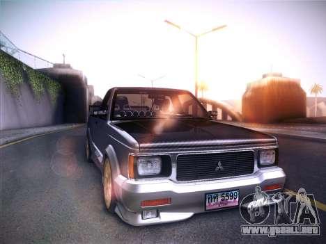Mitsubishi Cyclone para GTA San Andreas left