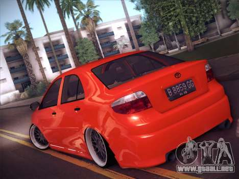 Toyota Vios Modified Indonesia para GTA San Andreas left